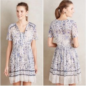 Anthropologie Maeve Floral Dress